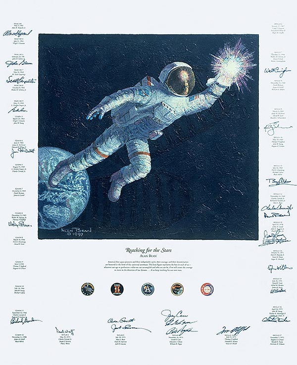 Reaching for the Stars - Alan Bean