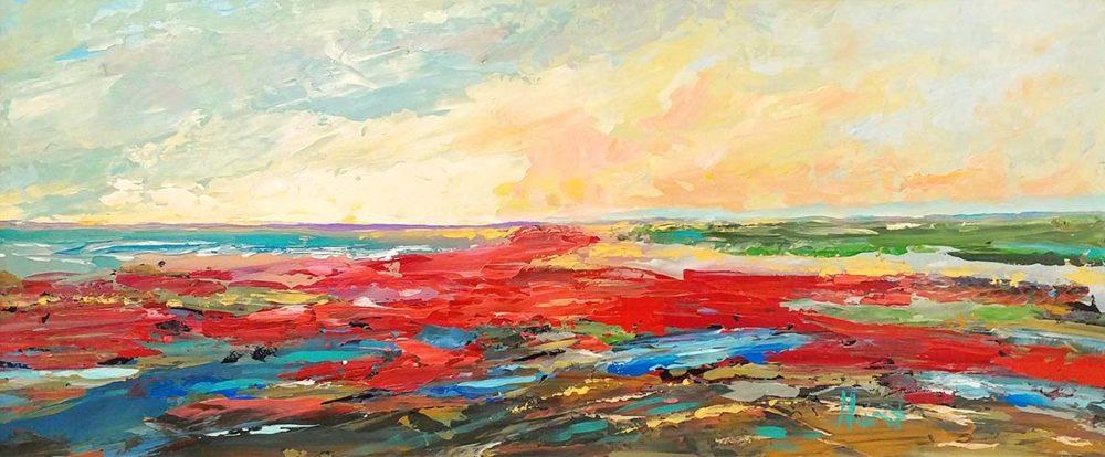Red Beach - Marilyn Hurst