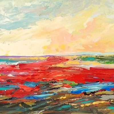 Red Beach - Marilyn Hurst