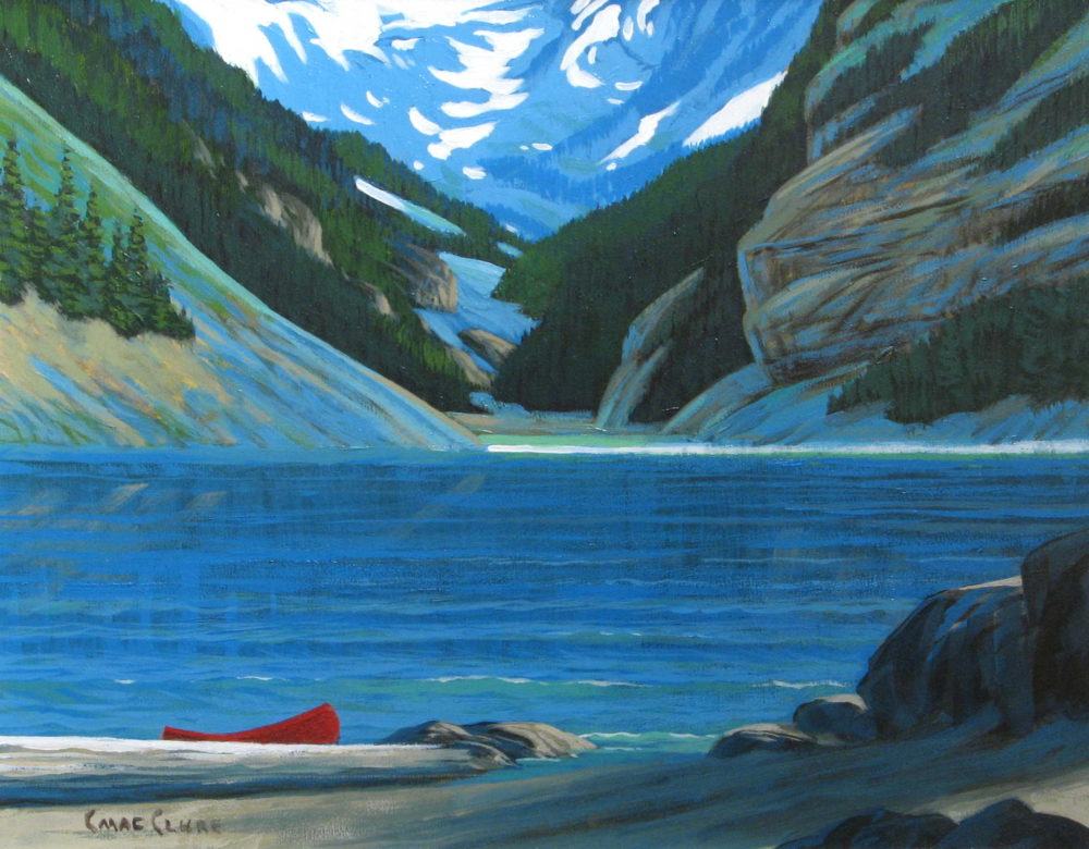 Red Canoe Chris MacClure