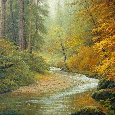 Redwood Stream Charles White