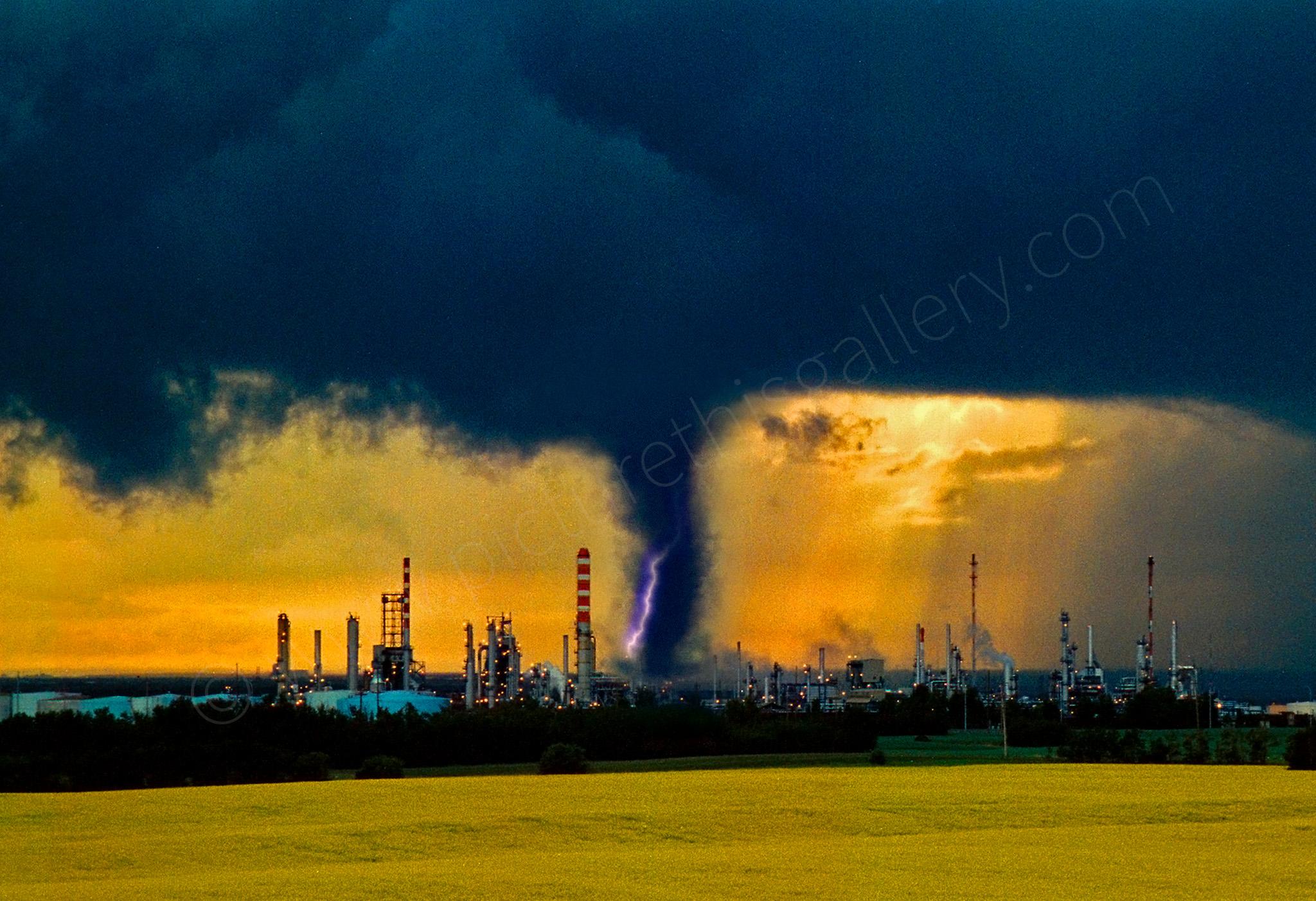 Refinery Tornado