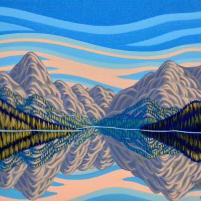 Reflection, Maligne Lake - Patrick Markle