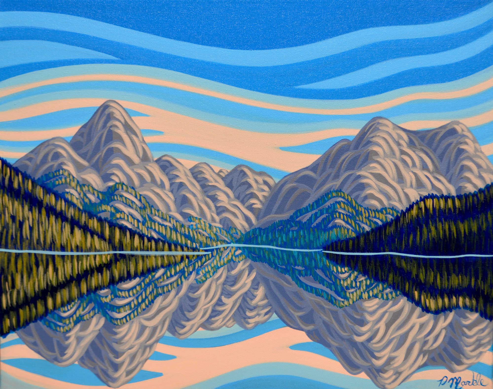 Reflection, Maligne Lake - Patrick Markle