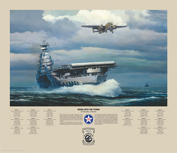 Rising Into The Storm Print William S. Phillips
