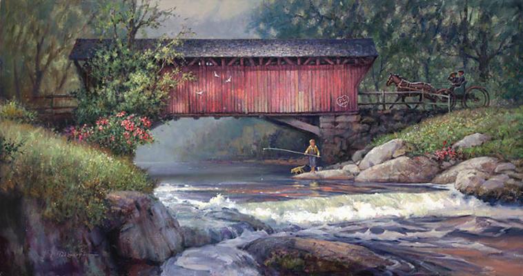 River Reflections Paul Landry