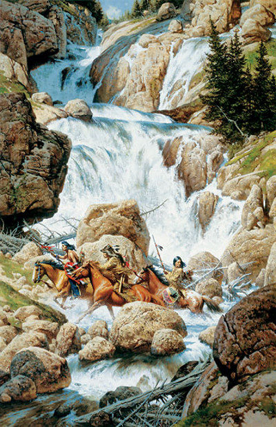 Roar of the Falls - Frank McCarthy