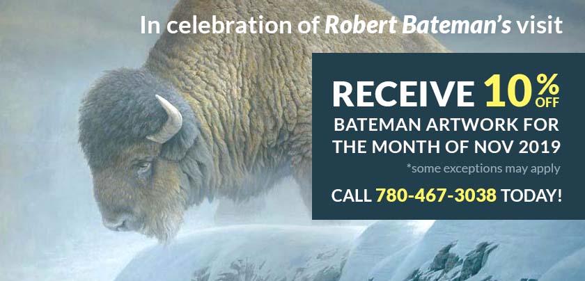 Robert Bateman 10% Special