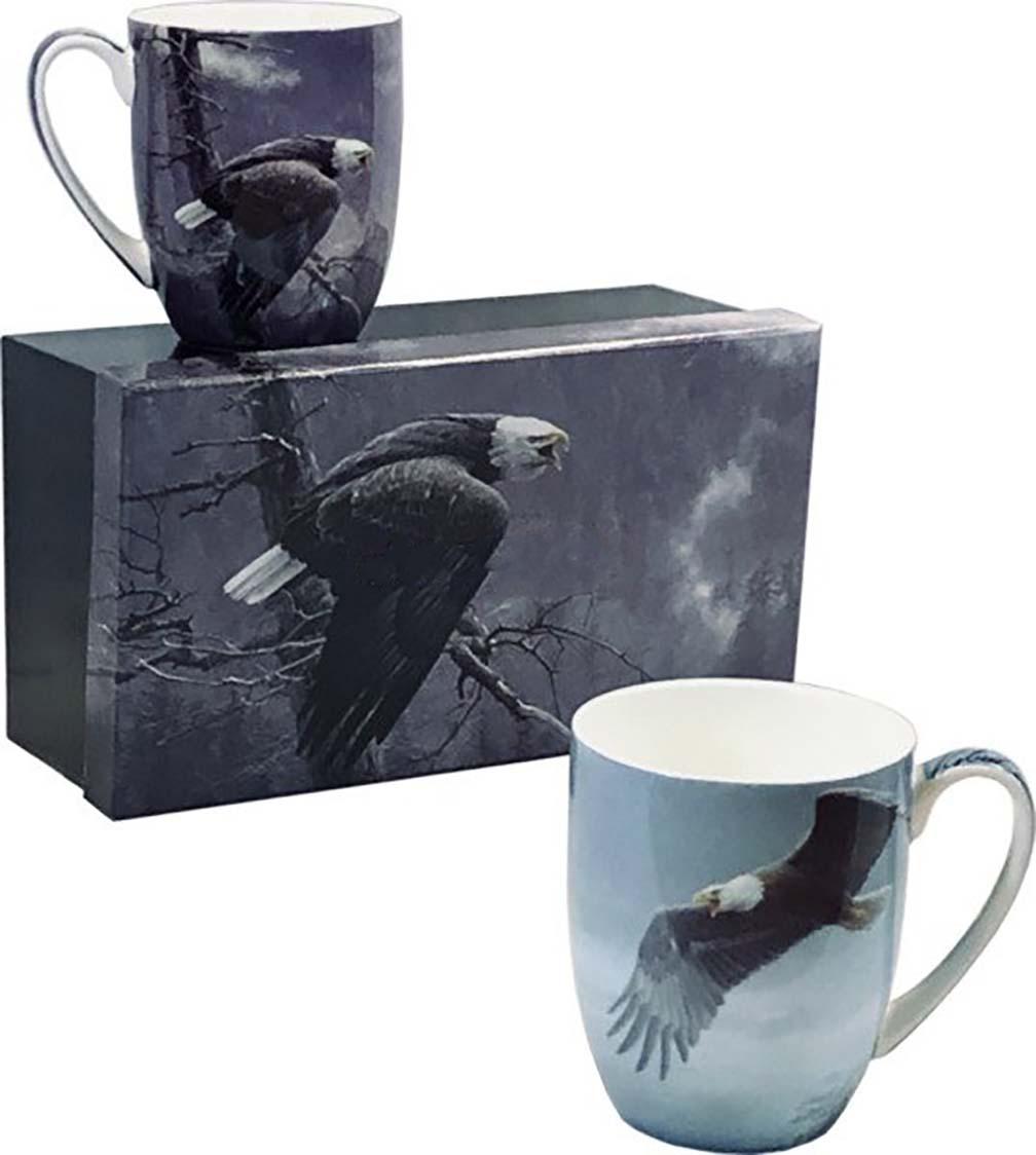 Robert Bateman Mug Set - Eagle