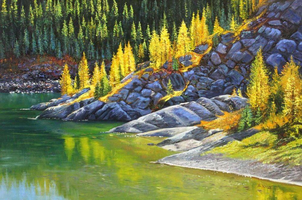 Rock Isle Lake - Andrew Kiss
