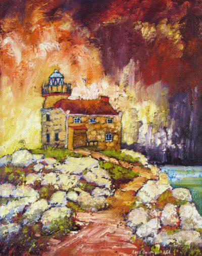 Rose Blanche Light House - Lois Bauman