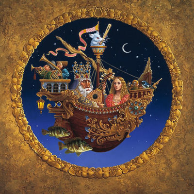 Royal Music Barque James Christensen