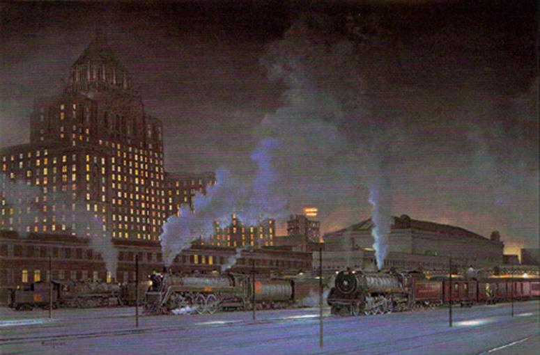 Royal York Hotel & Union Station Max Jacquiard