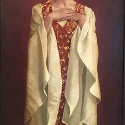 Saint with White Sleeves - James Christensen