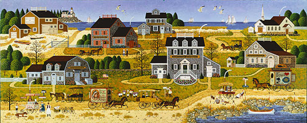Salty Witch Bay Charles Wysocki
