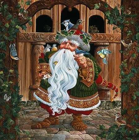 Santa's Other Helpers - James Christensen
