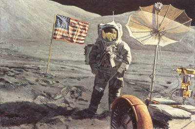 Savoring The Moment Alan Bean
