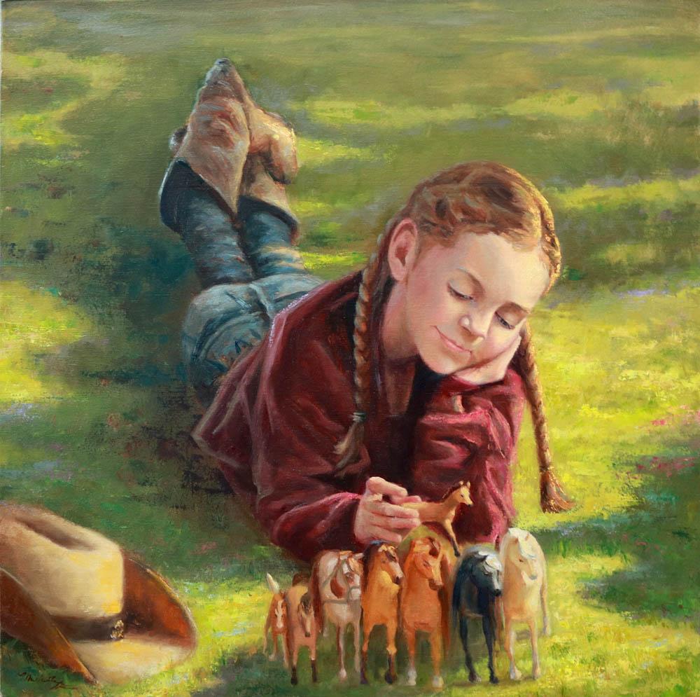 Scarlett's Horses - Michelle Murray