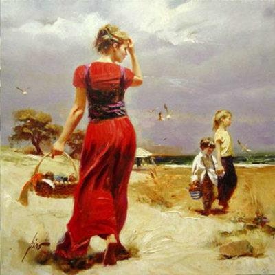 Seaside Gathering Pino