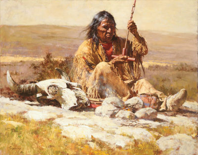 Seeking Wisdom Through The Pipe Howard Terpning