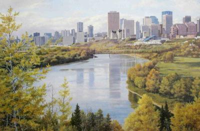 September Skyline Edmonton Isabel Levesque