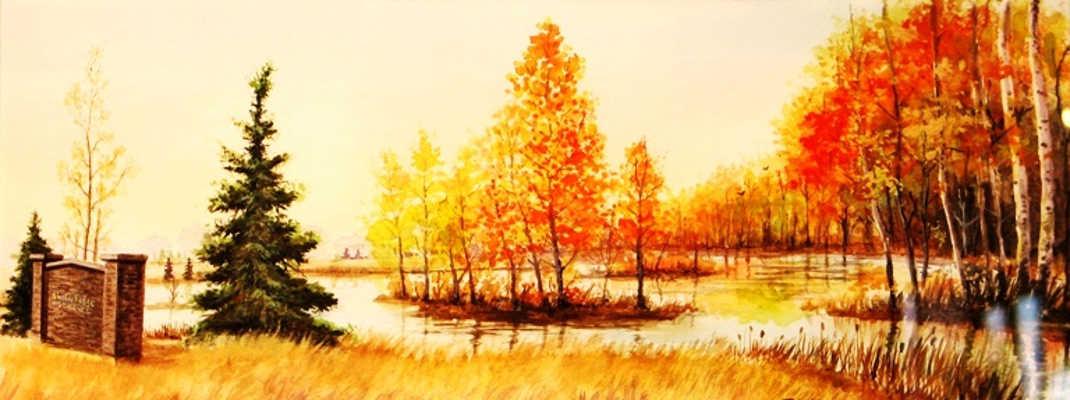 Shadow Ridge Autumn John Zacharias