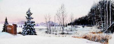 Shadow Ridge Winter John Zacharias