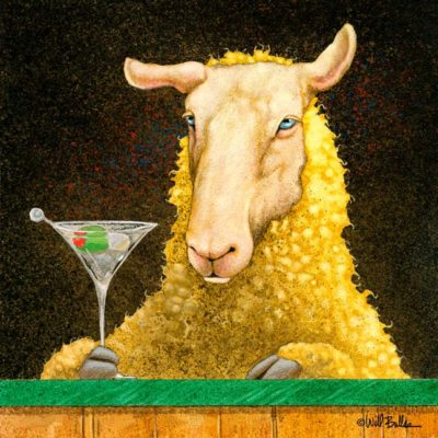 Sheep-faced on Martinis - Will Bullas
