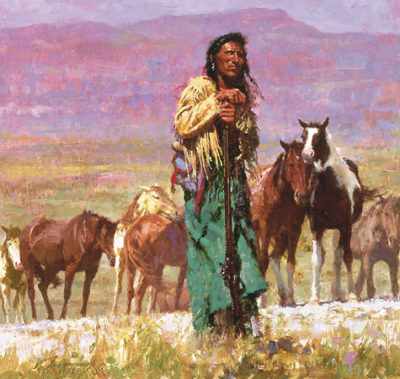 Shepherd Of The Plains Howard Terpning