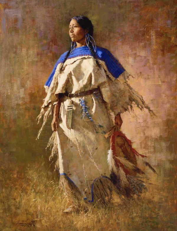 Shield of Her Husband - Howard Terpning