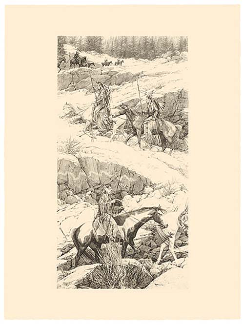 Shoshone Switchback - Bev Doolittle