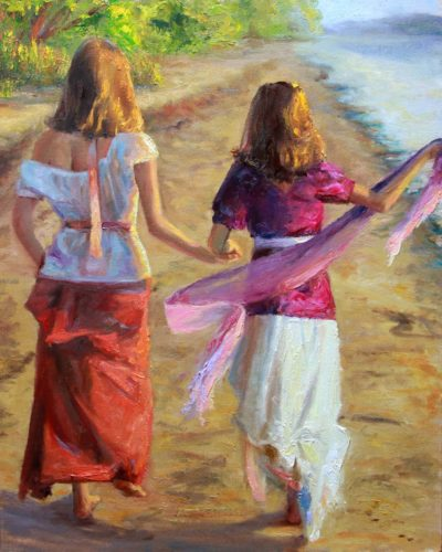 Sisters on the Shore - Michelle Murray