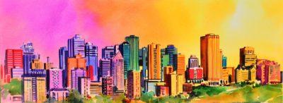 Skyline from Saskatchewan Drive - Gregg Johnson