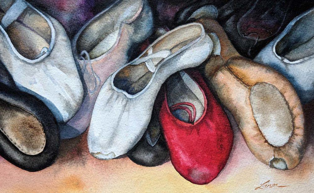 Slippers - Larisa Cheladyn