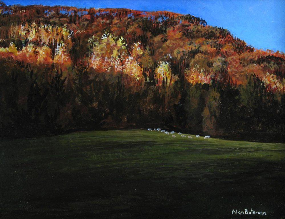 Small Flock of Sheep - Alan Bateman