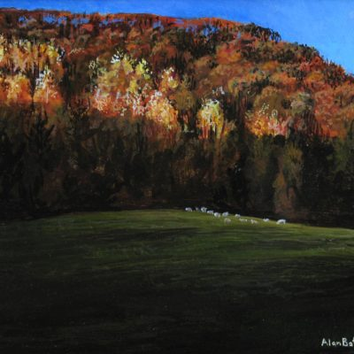 Small Flock of Sheep - Alan Bateman