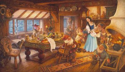 Snow White And The Seven Dwarves Scott Gustafson