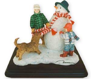 Snowman - Figurine - Trisha Romance