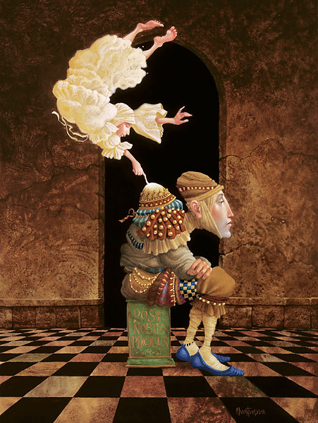 Sometimes The Spirit Touches Us Through Our Weaknesses James Christensen