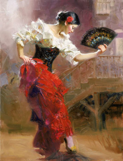 Spanish Dancer Pino