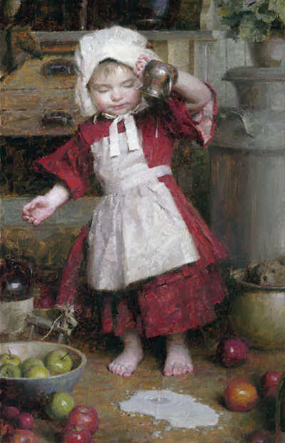 Spilled Milk Morgan Weistling