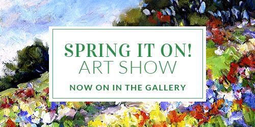 Spring It On Art Show - Carousel Slide