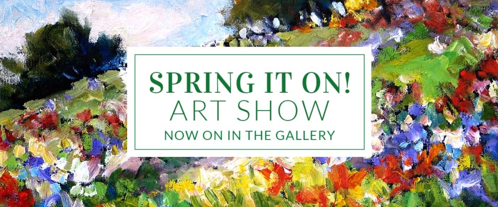 Spring It On Art Show