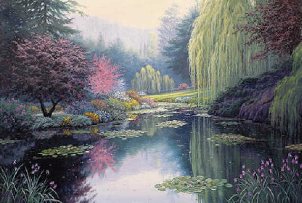 Spring Reflections Charles White