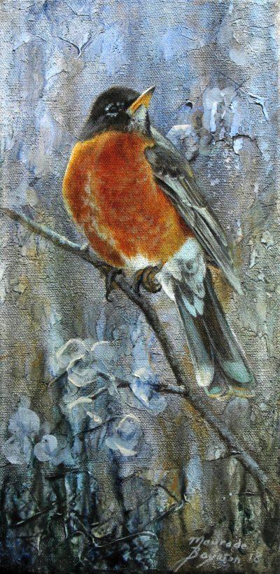 Spring Robin - Maurade Baynton
