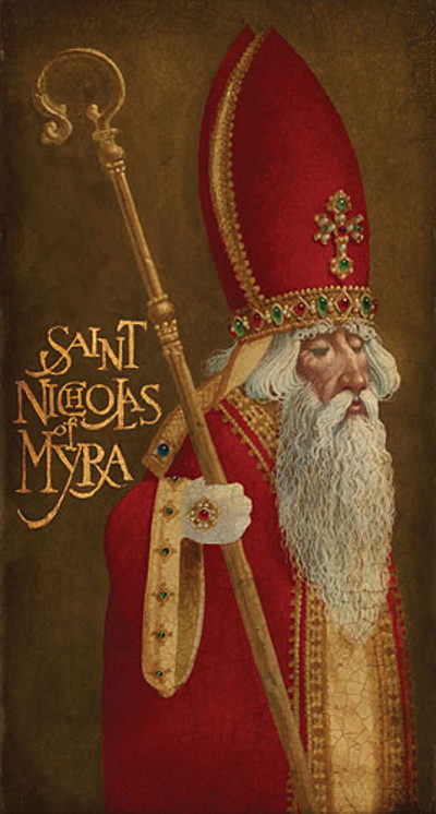 St. Nicholas Of Myra James Christensen