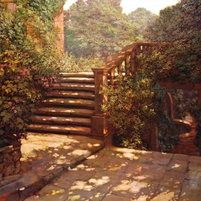Steps at Hestercombe - Philip Craig