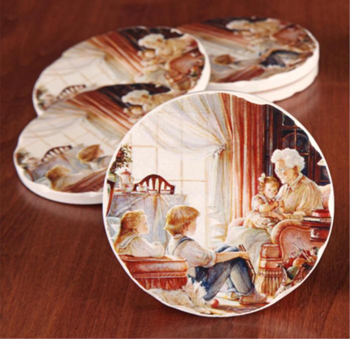 Storyteller Coasters Trisha Romance