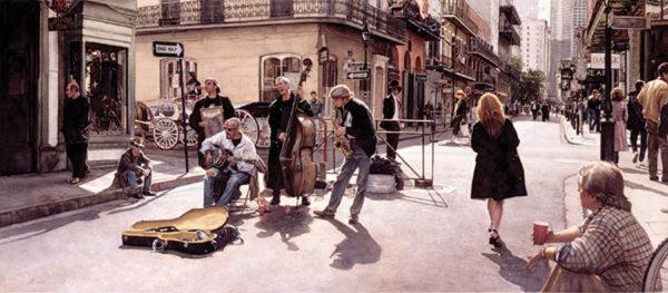 Streets Of New Orleans Steve Hanks
