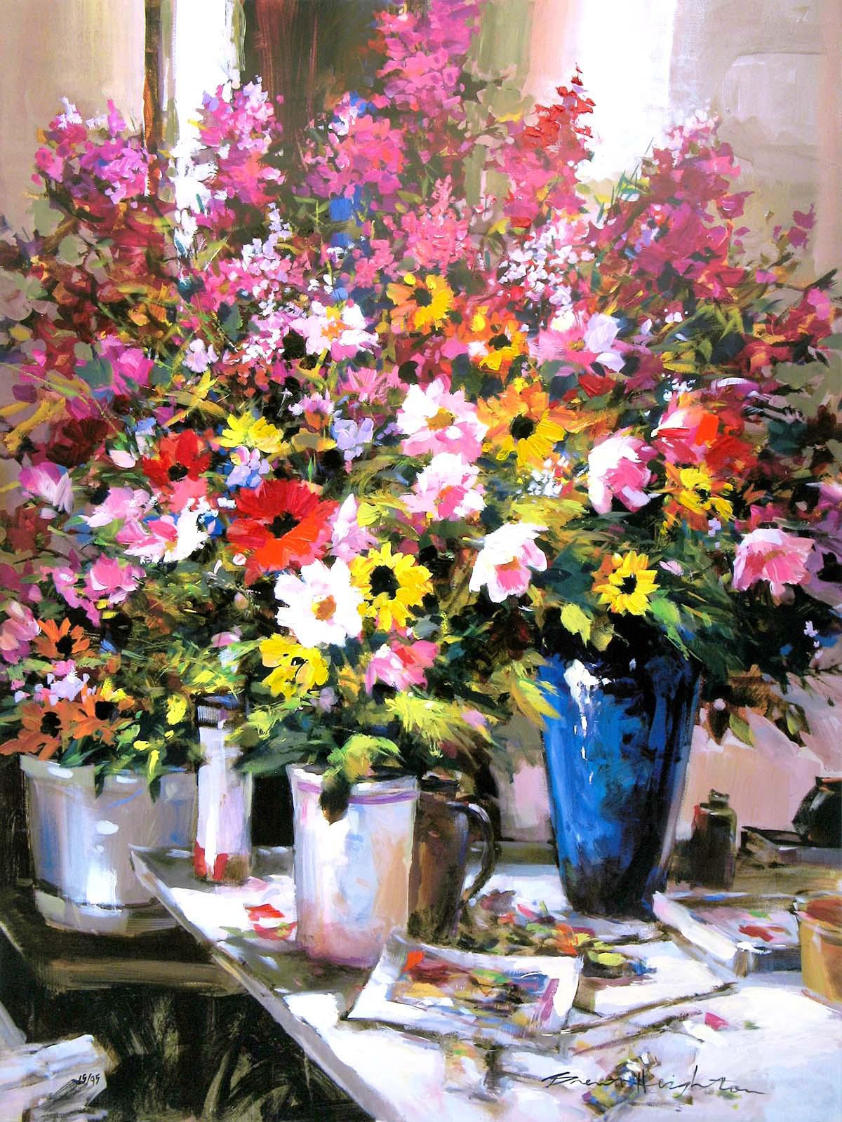 Studio Flowers - Brent Heighton